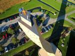 Chinh phục bức tường cao 37m tại Hà Lan