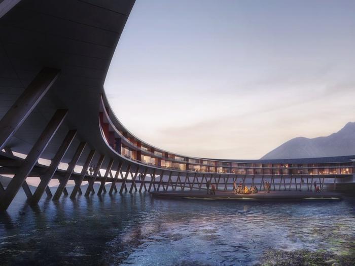 Khách sạn tuyệt đẹp như bước ra từ phim khoa học viễn tưởng ở Na Uy-2