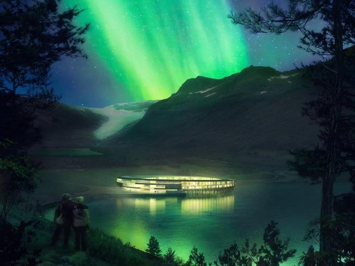Khách sạn tuyệt đẹp như bước ra từ phim khoa học viễn tưởng ở Na Uy-4