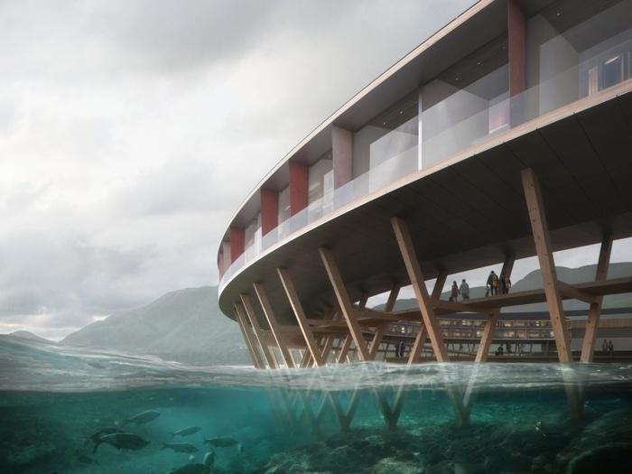 Khách sạn tuyệt đẹp như bước ra từ phim khoa học viễn tưởng ở Na Uy-5