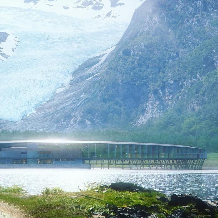 Khách sạn tuyệt đẹp như bước ra từ phim khoa học viễn tưởng ở Na Uy-6