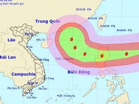 Siêu bão Yutu giật trên cấp 17 xuất hiện gần Biển Đông