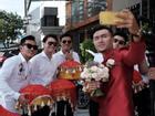 Cường Seven, Hiếu Nguyễn bê tráp ăn hỏi cho diễn viên Xuân Phúc