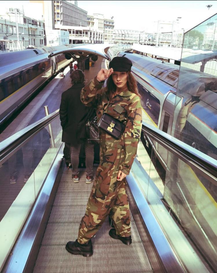 Chân dài triệu đô Hollywood Bella Hadid sở hữu phong cách thời trang không thể chê điểm nào-2
