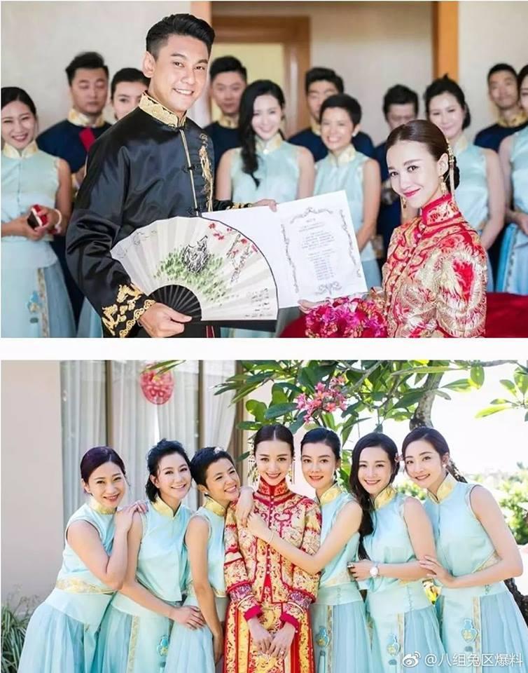 Trang phục cưới truyền thống của mỹ nhân Hoa ngữ: Angela Baby siêu đắt đỏ, Lưu Thi Thi cầu kì tỉ mỉ-13