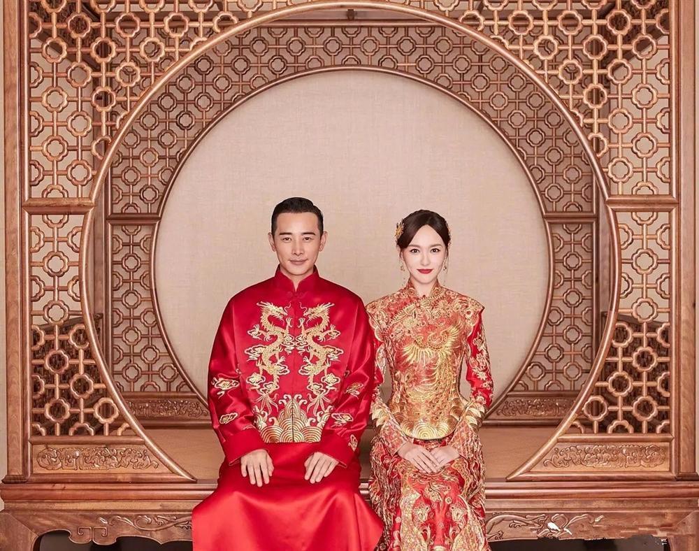 Trang phục cưới truyền thống của mỹ nhân Hoa ngữ: Angela Baby siêu đắt đỏ, Lưu Thi Thi cầu kì tỉ mỉ-1