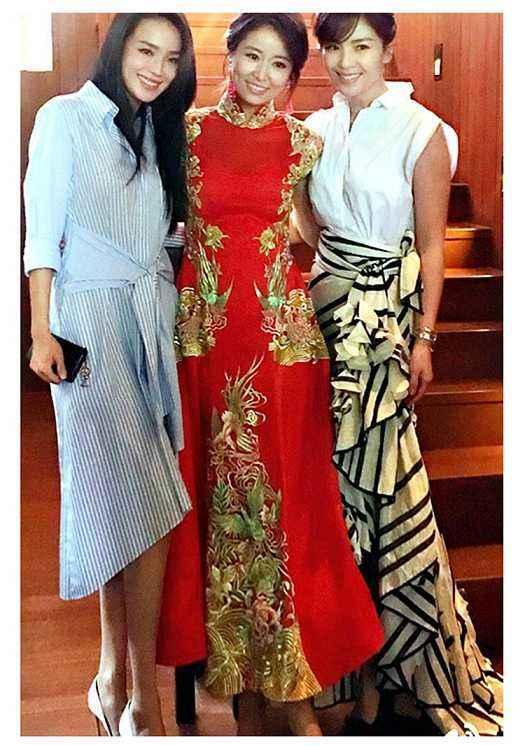 Trang phục cưới truyền thống của mỹ nhân Hoa ngữ: Angela Baby siêu đắt đỏ, Lưu Thi Thi cầu kì tỉ mỉ-8