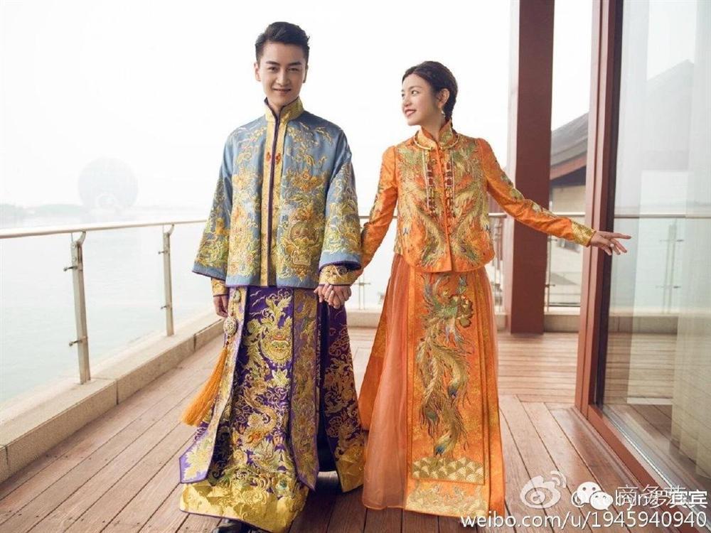 Trang phục cưới truyền thống của mỹ nhân Hoa ngữ: Angela Baby siêu đắt đỏ, Lưu Thi Thi cầu kì tỉ mỉ-10