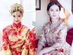 Trang phục cưới truyền thống của mỹ nhân Hoa ngữ: Angela Baby siêu đắt đỏ, Lưu Thi Thi cầu kì tỉ mỉ