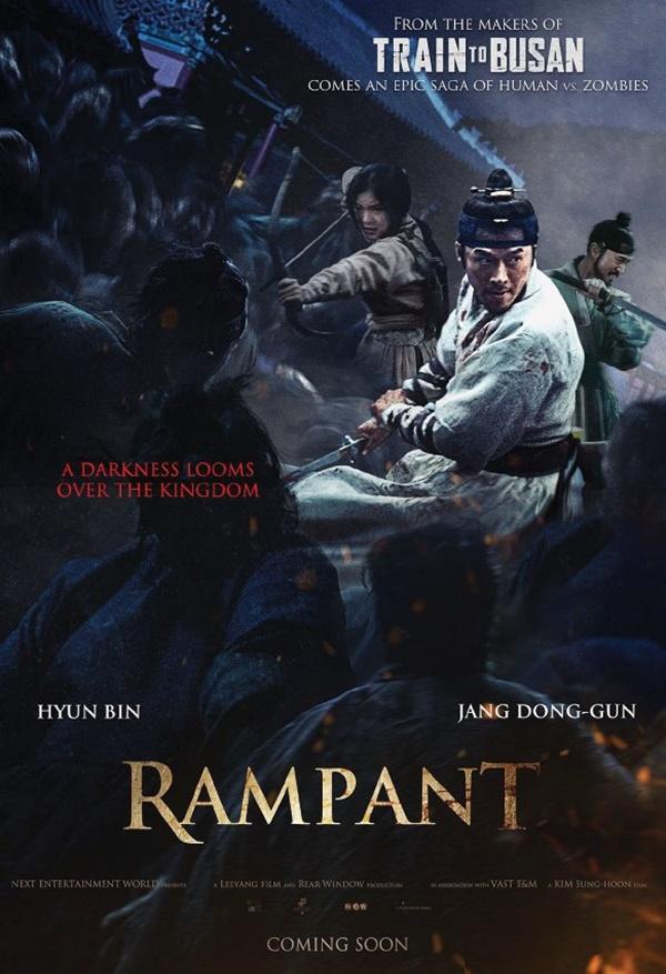 'Rampant' của Hyun Bin và Jang Dong Gun vừa ra mắt đã trở thành phim ăn khách nhất, liên tục dẫn đầu phòng vé Hàn-1