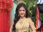 Ngoại hình quá chênh lệch, đám cưới của cô dâu xinh đẹp người Khmer và chồng đại gia gây xôn xao mạng xã hội Trung Quốc-5