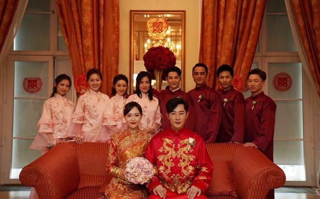 Ảnh hiếm trong hôn lễ cổ tích của Đường Yên - La Tấn-1