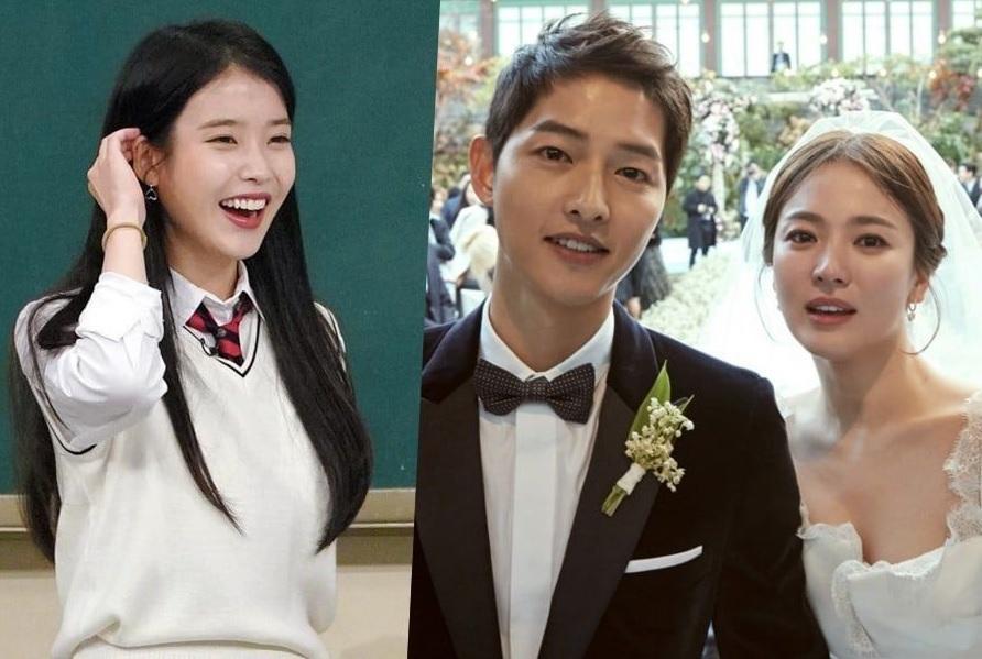 IU choáng váng khi biết Song Hye Kyo và Song Joong Ki tới concert của mình-1