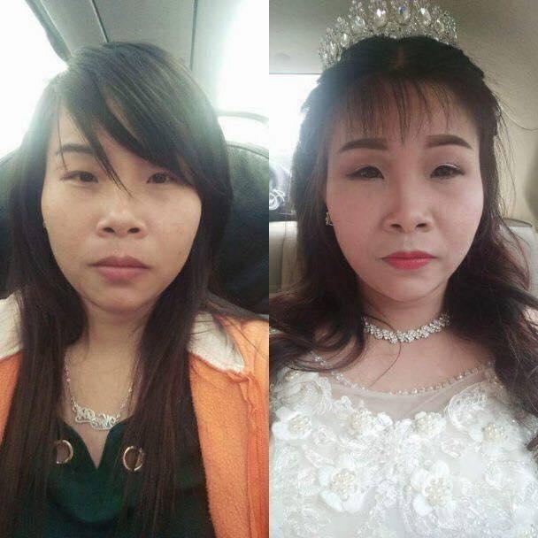 Phiên bản cô dâu xấu hơn bản gốc khiến chị em ngậm ngùi khóc ròng trong ngày cưới-5