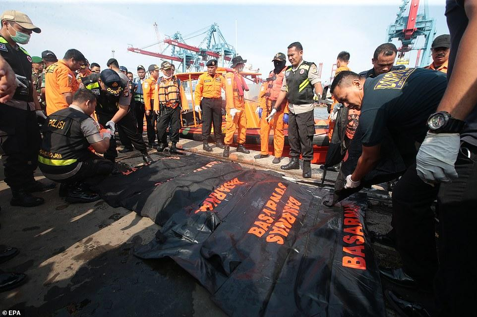 Đã vớt được 6 thi thể đầu tiên trong vụ máy bay rơi ở Indonesia-4