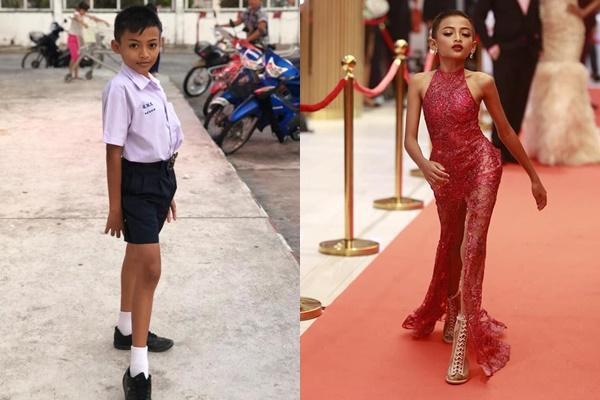 Cậu bé 12 tuổi gây sốt với tài năng giả gái và catwalk thần sầu được ví như HHen Niê-3