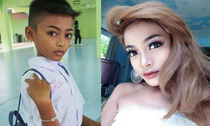 Cậu bé 12 tuổi gây sốt với tài năng giả gái và catwalk thần sầu được ví như HHen Niê-2