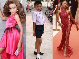 Cậu bé 12 tuổi gây sốt với tài năng giả gái và catwalk thần sầu được ví như H'Hen Niê