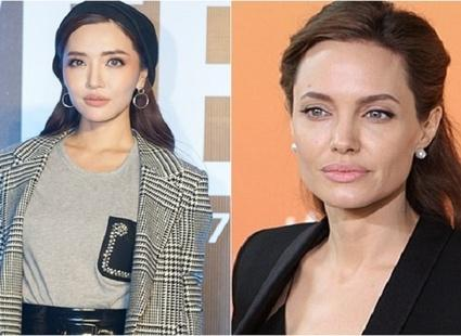 Đẹp thì có đẹp nhưng gương mặt Bích Phương đang bị nhiều người gọi là bản sao Minh Tú và Angelina Jolie-8