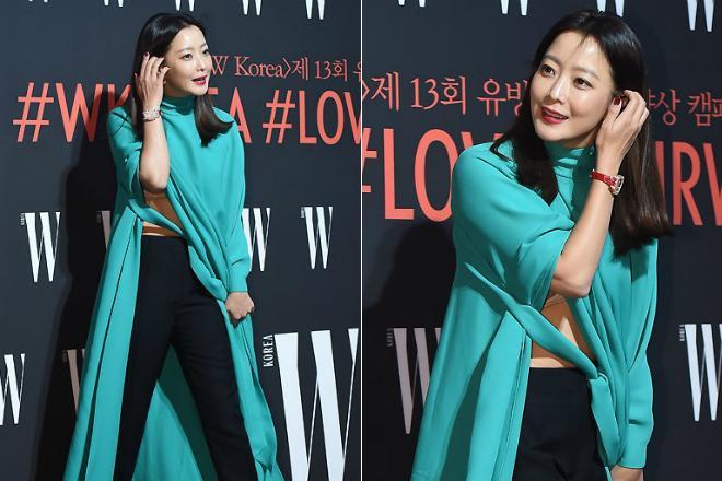 Là biểu tượng nhan sắc nhưng Kim Hee Sun nhiều lần mắc lỗi trang phục xấu không đỡ nổi-2