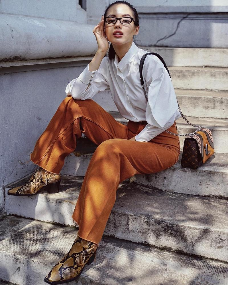 Chi Pu, Khánh Linh The Face cùng dàn mỹ nhân Việt lăng xê gam màu camel đẹp xuất sắc-5