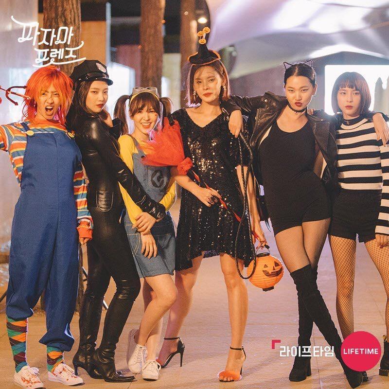 Mỹ nhân Hàn biến hình dịp Halloween: Mợ Ngố Song Ji Hyo cực chất, TWICE khiến khán giả hết hồn-2