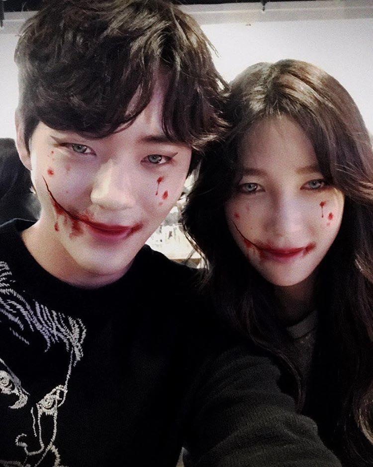 Mỹ nhân Hàn biến hình dịp Halloween: Mợ Ngố Song Ji Hyo cực chất, TWICE khiến khán giả hết hồn-5