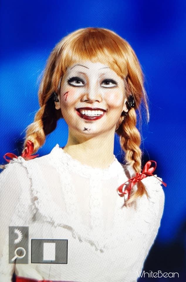 Mỹ nhân Hàn biến hình dịp Halloween: Mợ Ngố Song Ji Hyo cực chất, TWICE khiến khán giả hết hồn-11