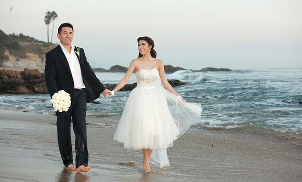 Yêu tròn 1 tháng, cưới đúng 4 năm và cuộc hôn nhân chỉ lãi mỗi đứa con của chân dài Ngọc Quyên-4