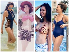 Diện bikini khoe body bốc lửa, mỹ nhân Việt U50, U60 khiến 'gái còn xuân' cũng phải mất điện