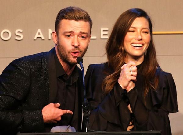 Justin Timberlake kể lần đầu gặp vợ: Chỉ mình cô ấy cười khi tôi đùa-1