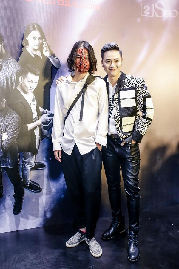 Em trai Thanh Duy chiếm trọn spotlight khi hóa trang kinh dị đến dự ra mắt phim Dream Man-4