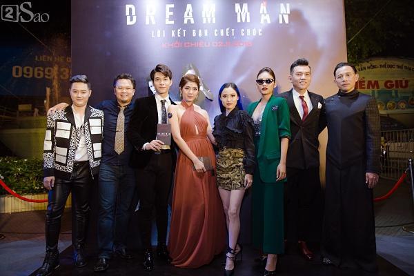 Em trai Thanh Duy chiếm trọn spotlight khi hóa trang kinh dị đến dự ra mắt phim Dream Man-8