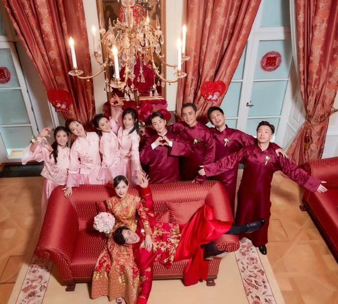 Trọn bộ ảnh đẹp như cổ tích trong hôn lễ Đường Yên - La Tấn-2