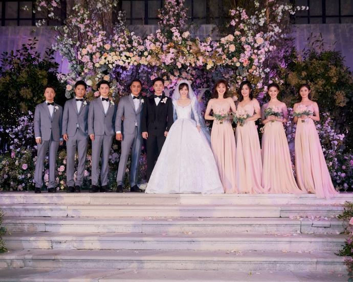 Trọn bộ ảnh đẹp như cổ tích trong hôn lễ Đường Yên - La Tấn-3