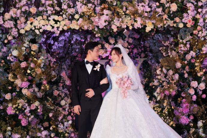 Trọn bộ ảnh đẹp như cổ tích trong hôn lễ Đường Yên - La Tấn-5
