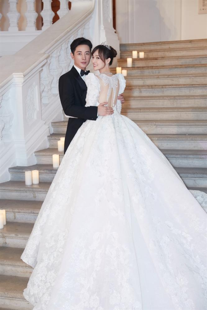 Trọn bộ ảnh đẹp như cổ tích trong hôn lễ Đường Yên - La Tấn-7