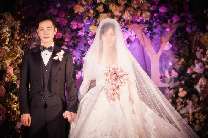 Trọn bộ ảnh đẹp như cổ tích trong hôn lễ Đường Yên - La Tấn-10