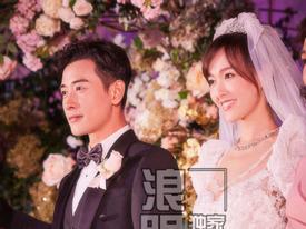 Trọn bộ ảnh đẹp như cổ tích trong hôn lễ Đường Yên - La Tấn