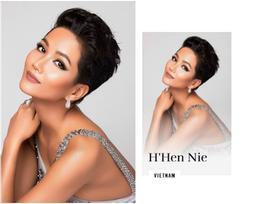 H'Hen Niê xuất hiện rạng ngời trên trang chủ Miss Universe với mái tóc tém không thể lẫn với ai