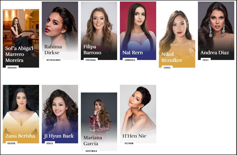 HHen Niê xuất hiện rạng ngời trên trang chủ Miss Universe với mái tóc tém không thể lẫn với ai-1