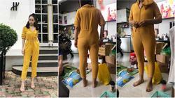 Nhức não vì mua hàng online: Order jumpsuit mà nhận về bộ đồ lặn thẳng đuỗn như cây sào