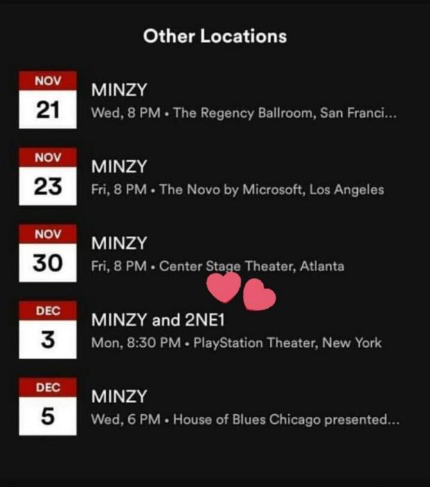Fan chưa kịp mừng trọn vẹn chuyện 2NE1 tái hợp thì Minzy lại vừa… tuyên bố hủy show-1
