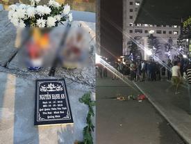 Bé gái bị mẹ ném từ tầng 31 chung cư Linh Đàm đã được chôn cất vào hôm nay