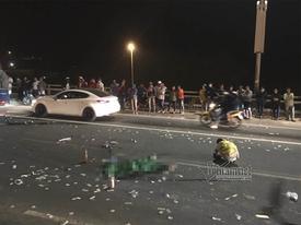 Tai nạn chết người, cầu Nhật Tân ùn tắc trong đêm