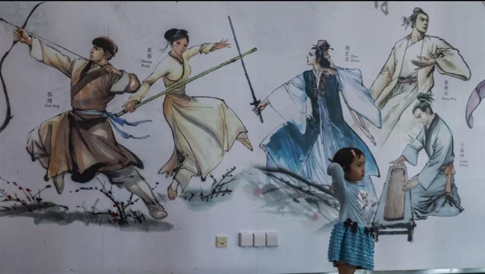 Nhân vật nữ lợi hại, đáng sợ nhất trong truyện Kim Dung là ai?-1