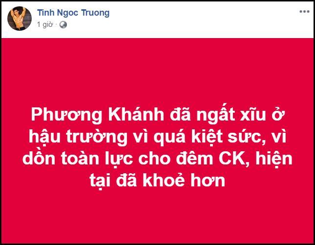 Nguyễn Phương Khánh ngất xỉu ngay sau khi đăng quang Hoa Hậu Trái Đất 2018-2