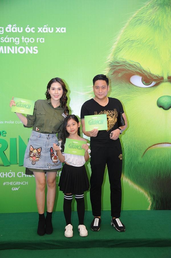 Vợ chồng Lý Hải cùng dàn sao Việt rạng rỡ trong sự kiện ra mắt siêu phẩm hoạt hình The Grinch-5