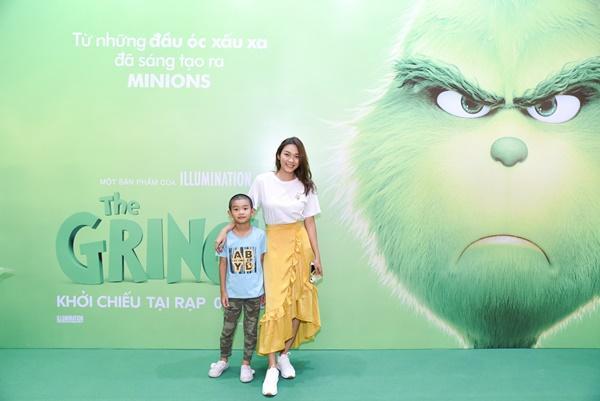 Vợ chồng Lý Hải cùng dàn sao Việt rạng rỡ trong sự kiện ra mắt siêu phẩm hoạt hình The Grinch-8
