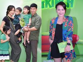 Vợ chồng Lý Hải cùng dàn sao Việt rạng rỡ trong sự kiện ra mắt siêu phẩm hoạt hình 'The Grinch'